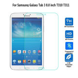 De aangemaakte Beschermer van het Scherm van het Glas voor Lusje van de Melkweg van Samsung 3 8.0 T310 T311