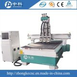 Acrílico de la máquina de la carpintería que talla el ranurador neumático del CNC