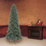 9 FT. Apenas cortar a árvore de Natal artificial do abeto de luxe de Aspen com cor que 700 o diodo emissor de luz bem escolhido se ilumina (MY100.080.00)
