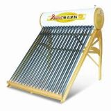Chauffe-eau solaire compact de basse pression