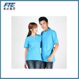 Mann-oder Dame-Form gedrucktes Baumwollpolo-Hemd für Sommer