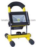 10W穂軸の充電電池LEDの洪水修理車作業ライト