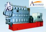 вспомогательный морской тепловозный комплект генератора 100kw