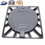 OEMの砂の鉄の鋳造Qt500-7の延性があるかねずみ鋳鉄のマンホールカバー