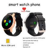 Reloj teléfono inteligente con el monitor del ritmo cardíaco (K88S)
