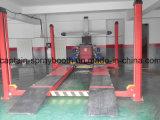 Alineamiento de rueda y equipo de elevación usado 4 Post Car Lift