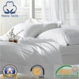 Hotel da planície 100% Cotton/CVC/hospital branco/tela Home da folha de base