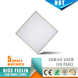 5years 보장 600*600mm 36W Dimmable LED 위원회 빛