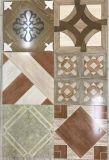 Hölzerner Blick glasig-glänzende rustikale Tintenstrahl-Fußboden-Fliese