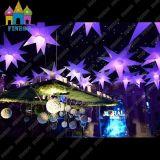 膨脹可能な装飾LEDストリング照明気球の星LED
