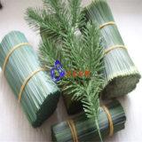 Filamento artificial da agulha do pinho da árvore de Natal da decoração do animal de estimação que faz a máquina