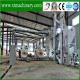 45mm Thickness Base, 6.1 Ton Weight, Biomass를 위한 Steady Performance Pellet Machine