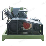 Aire diesel de alta presión sin aceite Compessor del tornillo de 300 Cfm