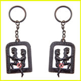 大人の性のギフトのための金によってめっきされる金属の陰茎Keychain
