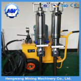 ディーゼル油圧分割のツールの具体的なブレーカの石分割機械