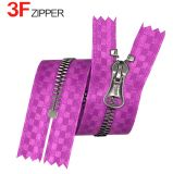 Metall Zipper Smooth Ribbon Tape für Luxury Garment, 5# u. 8#