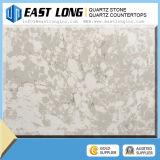 Countertops кварца белых слябов камня кварца цвета искусственние