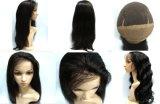 2015 pelucas llenas brasileñas del cordón de Remy de la manera de Kbl, peluca del pelo humano