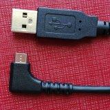Corriente de la carga: cable 3A USB2.0 del tipo masculino a al USB micro para el ordenador y Smartphone