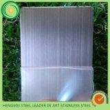 304ステンレス鋼シートの装飾のパネルのための金によって着色される塗るヘアラインサテンカラー金属