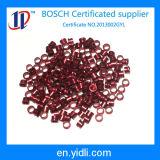 Soem-Metalzoll-maschinell bearbeitenteile mit rotem gelbem Titangrau anodisieren