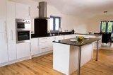 Kundenspezifische hohe glatte Schränke der Küche-2PAC 2017