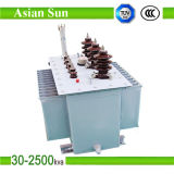 品質三相三相10/0.4kv 1000kVAのオイルによって浸される分布の電源変圧器