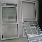 Ventana colgada superior de aluminio adaptable del vidrio Tempered