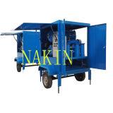 Zym-30 tipo al aire libre móvil máquina de la regeneración del petróleo del transformador