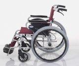 Fauteuil roulant pliable d'aluminium de dossier de repose-pieds détachable