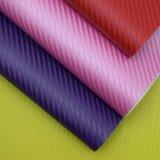 Couro sintético Textured de couro gravado do saco do plutônio do teste padrão de Weave de cesta