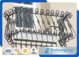 미국은 산업 알루미늄 담 또는 검술을 유행에 따라 디자인 한다