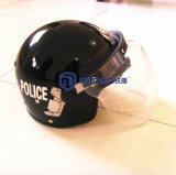 Un casque plus intense de répression des émeutes de police
