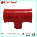 Té réducteur ASTM536 Grooved pour le couplage et l'ajustage de précision de pipe