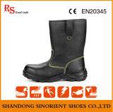 Carregador elevado de aço da segurança do tornozelo das sapatas de segurança do dedo do pé