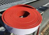 Feuille résistante de vieillissement de mousse de silicones avec l'adhésif de 3m