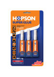 2PCS / Carte Aluminium Tube cyanoacrylate Super Glue (HCA-002)