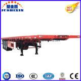 Flatbed Semi Aanhangwagen van het Vervoer van de Container