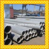 La pipe d'acier inoxydable de grand diamètre, sifflent l'acier inoxydable