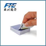 Cartão de jogo de papel impresso costume dos cartões do jogo