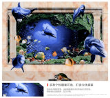 Принтер стекла древесины металла печатной машины Zhejiang UV планшетный