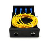 24 caixas óticas Multicore da terminação da fibra do terminal universal dos portos FC