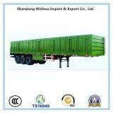 Le bétail de 3 essieux transporte la remorque de camion de la remorque de cargaison semi