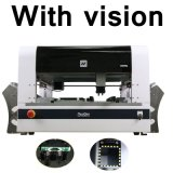 Máquina da picareta e do lugar com sistema Neoden 4 da visão