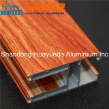 나무로 되는 곡물 이동 내각 프레임 물자를 위한 알루미늄 밀어남 단면도