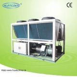 ねじ空気によって冷却されるヒートポンプに水をまく省エネの空気