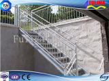 Горячая окунутая гальванизированная лестница трапа стальной структуры стальная (FLM-SP-001)