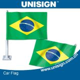 Customized Size와 Design (UCF-1)를 가진 Unisign Hot Selling Car Flag