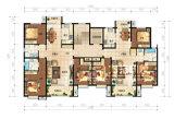 외국 별장 집 유형 배치 디자인