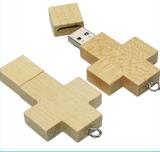 Disco de destello de madera del USB del profesional OEM/ODM